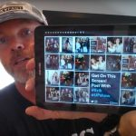 Add selfies to your bar's tv screens