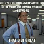 WHY hashtags don't work